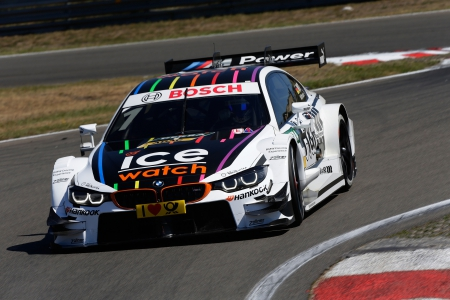 Zandvoort (NL) 10th July 2015. BMW Motorsport, Marco Wittmann (DE) Ice-Watch BMW M4 DTM. This image is copyright free for editorial use © BMW AG (07/2015).
