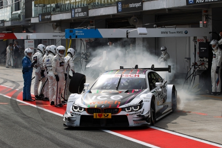 Moscow (RU) 28th August 2015. BMW Motorsport, Marco Wittmann (DE) Ice-Watch BMW M4 DTM. This image is copyright free for editorial use © BMW AG (08/2015).