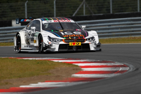 Moscow (RU) 30th August 2015. BMW Motorsport, Marco Wittmann (DE) Ice-Watch BMW M4 DTM. This image is copyright free for editorial use © BMW AG (08/2015).