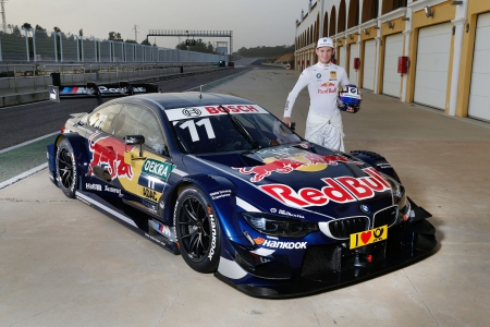 Monteblanco (ES) 22th Febrary 2016. BMW Motorsport, Red Bull BMW M4 DTM, Marco Wittmann (DE). This image is copyright free for editorial use © BMW AG (02/2016).
